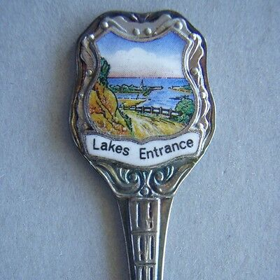 Lakes Entrance EPNS Souvenir Spoon Teaspoon