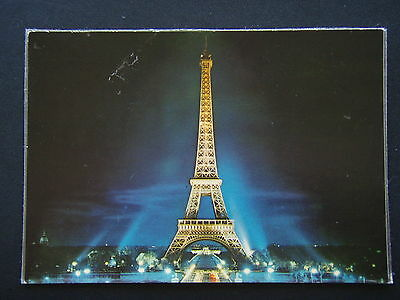 Paris Latour Eiffel Illuminee Postcard