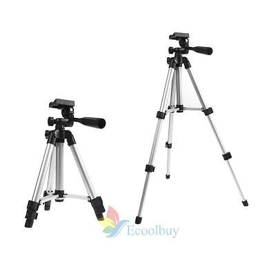 Professional 3 Sections Travel Tripod Digital Camera Camcorder Video W/Carry Bag