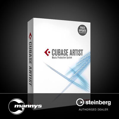 Steinberg Cubase Artist 9 Digital Audio Workstation