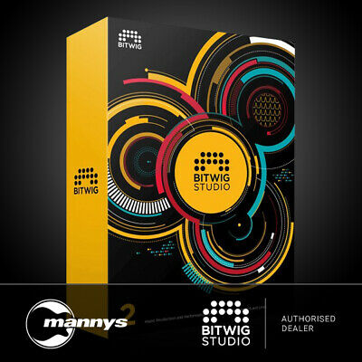 Bitwig Studio 2 Production & Performance Software w/ FREE Update to V.3