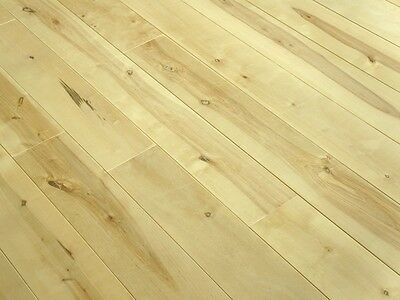 Solid Nordic Birch Hardwood Flooring Wood Boards Rustic 20x160mm unfinished