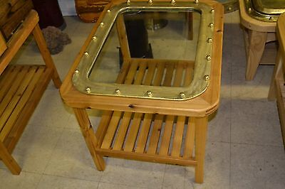 Great Lakes Freighter Porthole Table