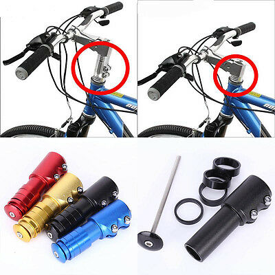 Mountain Bike Heads up Bicycle Threadless Stem Riser headset Alloy Practical