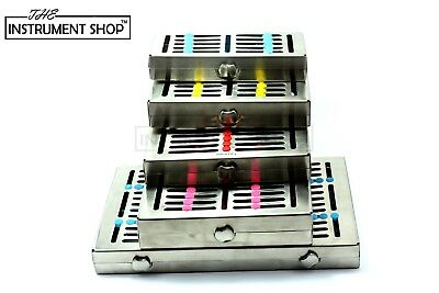 Dental Sterilisation Cassette Rack Deep Tray 5 7 10 15 20 Instruments Surgical