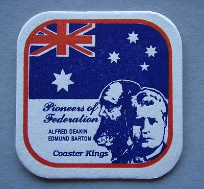Pioneers Of Federation Alfred Deakin Edmund Barton Coaster Kings Coaster