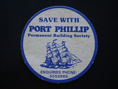 Port Phillip Permanent Building Society Save With 5555866 Coaster