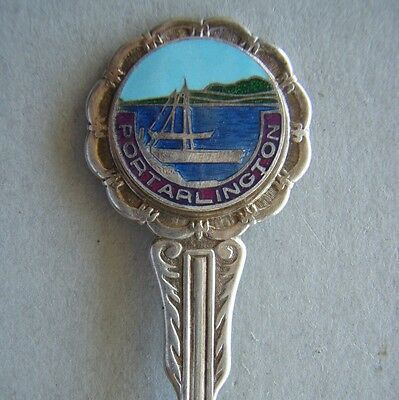 Portarlington EPNS A1 Souvenir Spoon Teaspoon