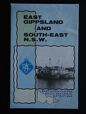 Rac Vic East Gippsland And South-East N.s.w. District Map
