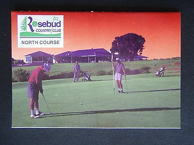 Rosebud Country Club  North Course Golf Score Card