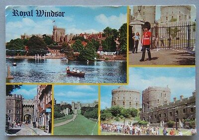 Royal Windsor 1982 Large Postcard