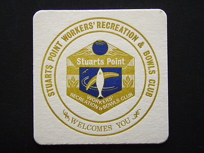 Stuarts Point Workers' Recreation & Bowls Club Coaster