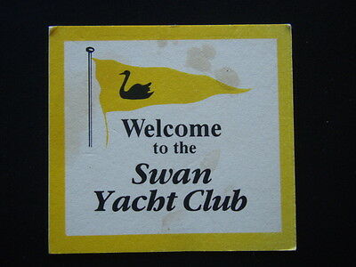 Swan Yacht Club Coaster