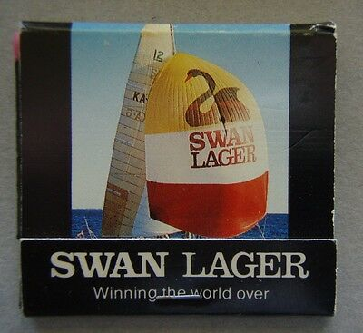 Swan Lager Winning The World Over America's Cup Challenge 1983 Matchbook