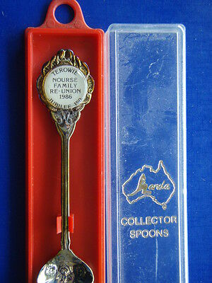 Terowie Nourse Family Re-Union 1986 Jubilee 150 - Teaspoon