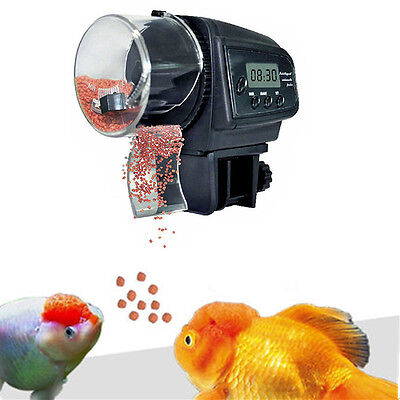 Aquarium Animalerie Distributeurs autofeeder de nourriture granules fish food