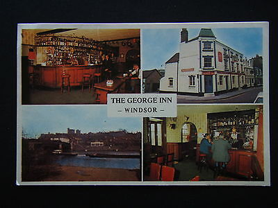 The George Inn High St Eton Windsor Berks 61797 Postcard