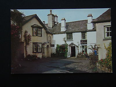 The Square Hawkshead Postcard