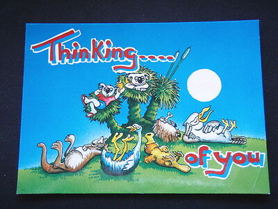 Thinking.... Of You 1995 Postcard