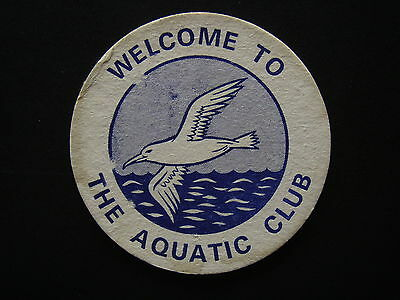 Welcome To The Aquatic Club We Hope You've Enjoyed Your Visit 3582915 Coaster