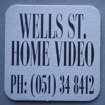 Wells St. Home Video PH: (51) 348412 Coaster (B303)