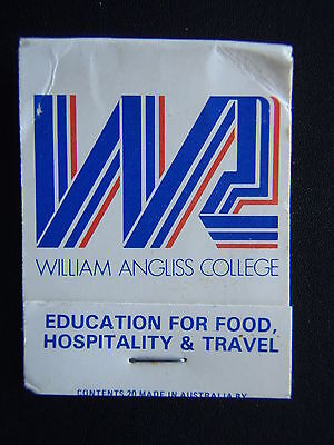 William Angliss College Restaurant 550 Little Lonsdale Melb 6062228 Matchbook
