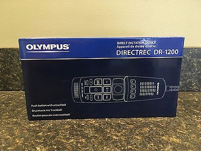 Olympus RecMic DR-1200 NEW USB Professional PC-Dictation Microphone