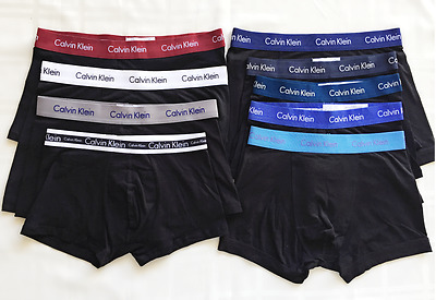 Men CK Calvin Klein Underwear Stretch Boxer Brief Trunk Low Rise S M L Black Nav