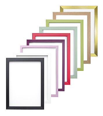 Rainbow Colour Range Picture Frame Photo Frame Poster Frame Decor Red Blue Pink