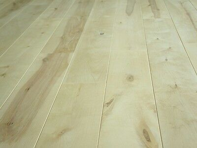 Solid Nordic Birch Hardwood Flooring Board Rustic 20x180 x 500-1900mm unfinished