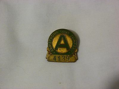 Armstrong Cork Co. Vintage Employee Badge / Dunkirk Indiana?