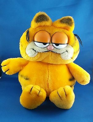 Vintage Awesome Garfield  Plush 11""