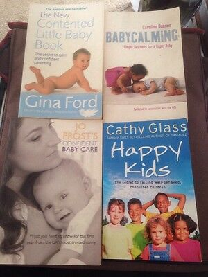 4 x Baby / Child Care Books- Jo Frost Cathy Glass Gina Ford