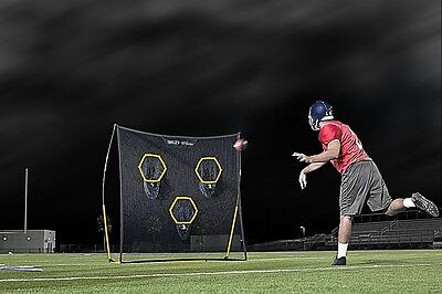 Football Practice Net Quarterback Passing Targets Training Snapping Aid Trainer