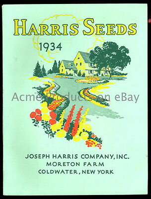 1934 GARDEN Catalog- FLOWERs & VEGETABLEs- Joseph Harris Co.- Coldwater NY- 96pg