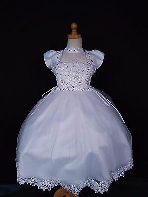 Beautiful baptism dress made in the USA simple and elegant. With jacket
