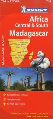 Michelin Map Africa Central South And Madagascar 746 (maps/country (michelin)...