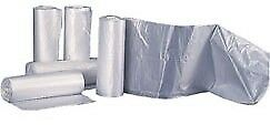 Trash Bag Clear, 60 gallon, 38 x 58in, 200 Count, Heavy Duty, 13 mic. SHIPS FREE