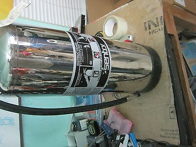 Vintage  Fire Extinguisher  Stainless 2-1/2 gal Water  Lot Q242