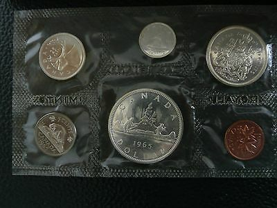 1965 Canadian Silver Proof Like Set - 1.11 Oz. Silver