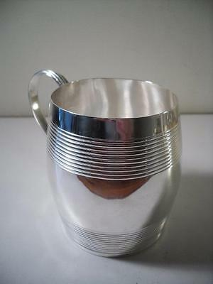 An Antique George III Silver Mug / Tankard : London 1799