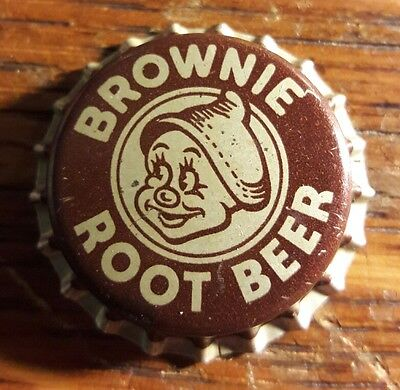 BROWNIE ROOT BEER soda bottle cap cork unused