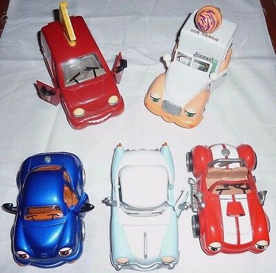 Lot of 5 gently used CHEVRON CARS Payton, Pax Power, Della Deluxe, Riley, Summer