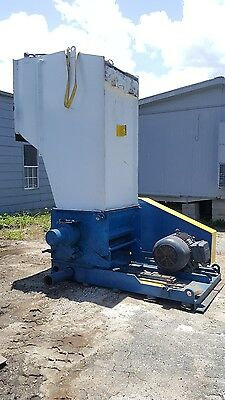 "100HP Herbold Granulator Model SML 60/100 chamber size is 29.5""X38.5"""