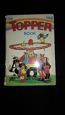 The Topper 1968 Vintage Annual Comic Hardback Book