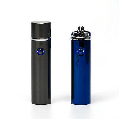 Flameless Rechargeable Cylinder Plasma ARC Pulse USB Charge Electric Lighter
