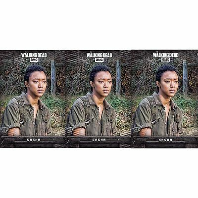 3x WARSONG BLACK SASHA WILLIAMS The Walking Dead Card Trader Digital