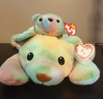 ty beanie babies/ Sherbet & Sammy collection/ Rare beanie babies