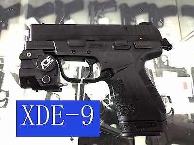 ADE ALCB Compact Green LASER+FLASHLIGHT sight Fits s&w sd40ve subcompact pistol