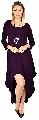 630240b975 WOMEN LAGENLOOK PLUS Size Summer Dress Quirky Loose Fitting Red ...